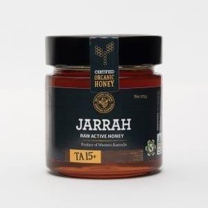 BeeHappy Certified Organic Raw Jarrah Honey T/A 15+