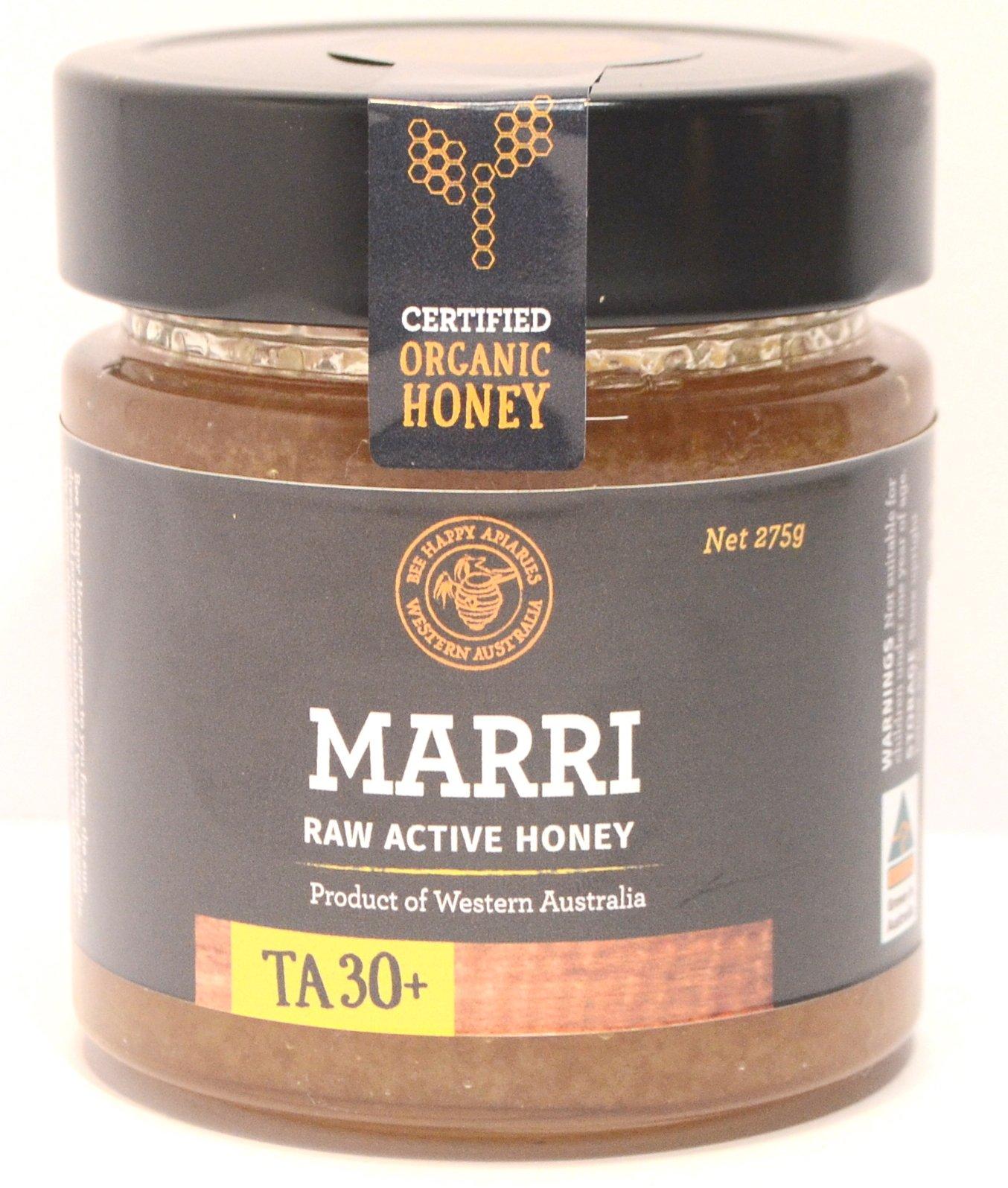 Organic Marri Honey TA 30+ 275g Jar